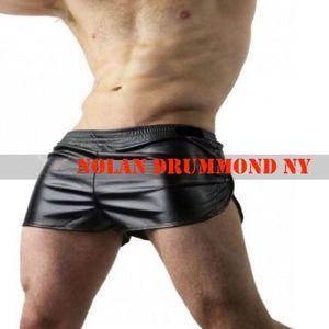 Nolan Drummond Leather Gym Shorts 30-32 US Made